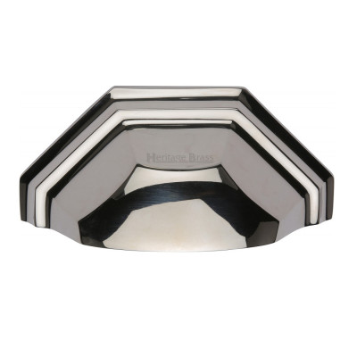 M.Marcus Drawer Pull 89mm - Polished Nickel