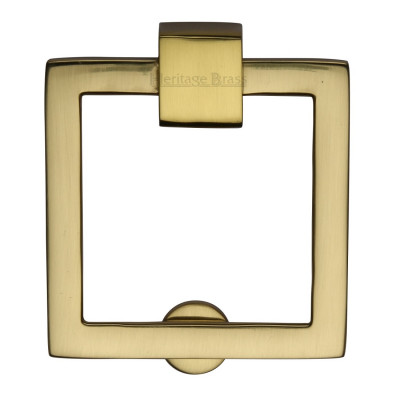 M.Marcus Square Drop Cabinet Pull - Polished Brass