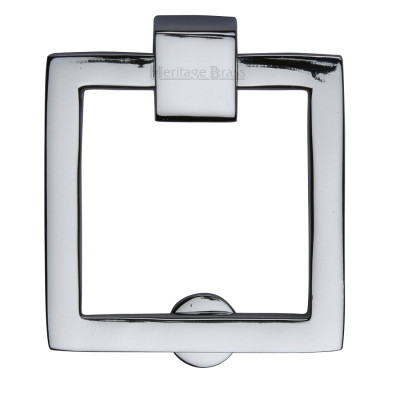 M.Marcus Square Drop Cabinet Pull - Polished Chrome
