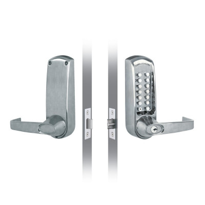 Codelock CL615 Digital Lock with Code Free - Satin Stainless Steel
