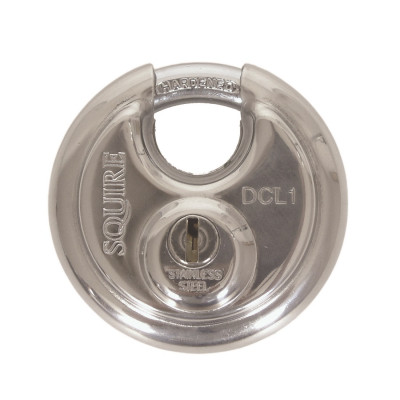 Squire DCL1 Discus Style 70mm Padlock