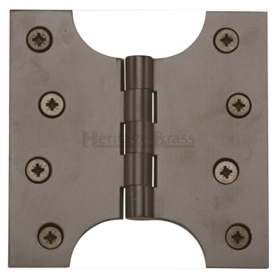 "M.Marcus 102x102mm (4"" x 4"") Parliament Hinges (pair) - Matt Bronze"