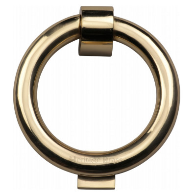 M.Marcus Ring Door Knocker - Polished Brass