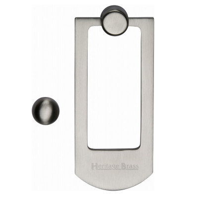 M.Marcus Modern Door Knocker - Satin Nickel