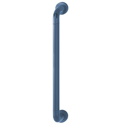 Hoppe 34mmØ Nylon 'D' Concealed Fixing Pull Handle 600mm - Midnight (Dark) Blue RAL5003