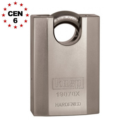 Kasp K19070X High Security Closed Shackle 70mm Padlock