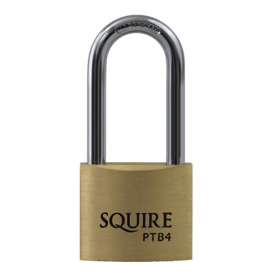 Squire Panther PTB4/2.5 Solid Brass Long Shackle 40mm Padlock