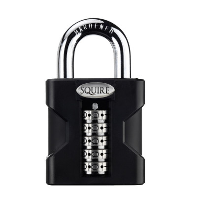 Squire Stronghold SS50 Combination Open Shackle 55mm Padlock