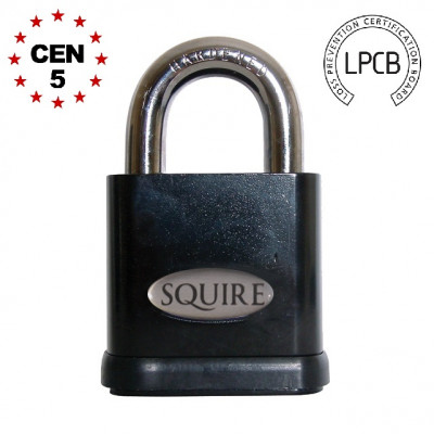 Squire Stronghold SS65S LPCB Open Shackle 65mm Padlock