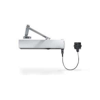 GEZE TS4000EFS EN1-6 Hold Open / Free Swing E-Mag Door Closer - Silver