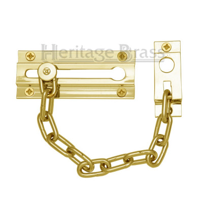 M.Marcus Door Chain - Polished Brass