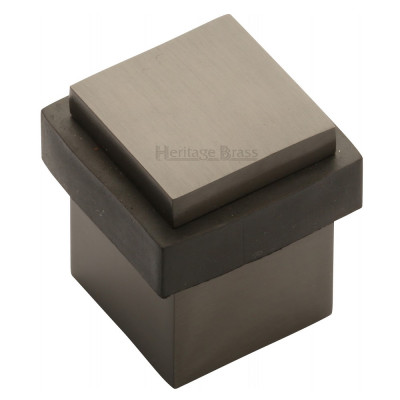M.Marcus Squared Floor Mounted Door Stop - Matt Bronze