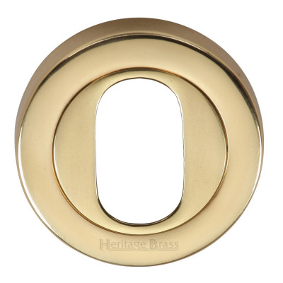 M.Marcus Oval Escutcheon 53mmØ - Polished Brass