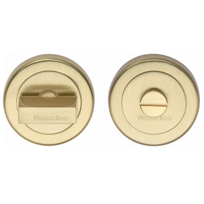 M.Marcus Bathroom Turn & Release 53mmØ - Satin Brass