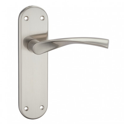 Fortessa Verto Lever Latch Handles - Satin Nickel