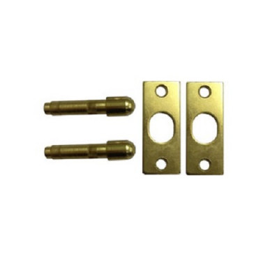Yale P125 Hinge Bolts (pair) - Polished Brass
