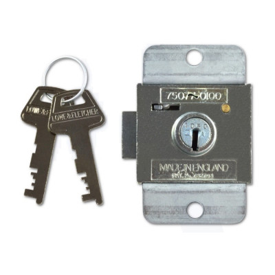 Lowe & Fletcher ZA Lock For Lockers and Garador Garage Door Locks - 6.7mm Nozzel - Keyed Alike