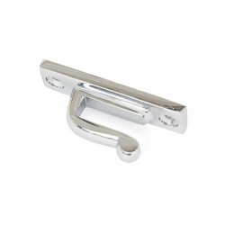 From The Anvil Period Hook Plate - Polished Chrome