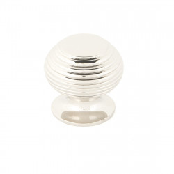 From The Anvil Small Beehive Cabinet Knob - Polished Nickel