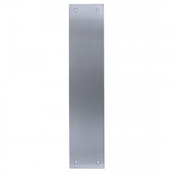 Arrone Finger Plate 350mm x 75mm - Satin Stainless Steel