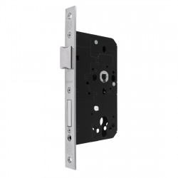 Arrone AR910 DIN Style Mortice Sashlock with Square Forend - 88mm Case - 60mm Backset - PSS