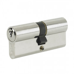 Yale Security 6 Pin Euro Double Cylinder - 35/35 (70mm) - Nickel Plated