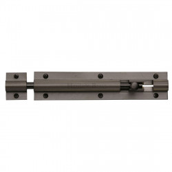 "M.Marcus Straight Door Bolt - 152mm (6"") - Matt Bronze"