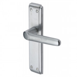 M.Marcus Deco Latch Handles - Satin Chrome