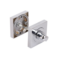 Fortessa Bathroom Square Turn & Release - Polished Chrome