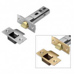 "Union HD26 Heavy Duty Tubular Latch - 82mm (3"") Case - 57mm Backset - Dual finish"