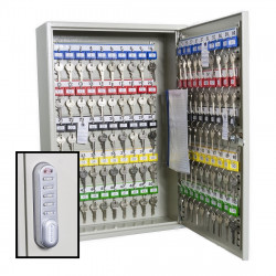 KeySecure Deep Key Cabinet With Electronic Cam Lock - 100 Hook