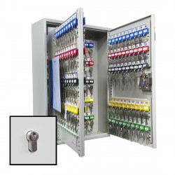 KeySecure Key Cabinet With Euro Cylinder Lock - 200 Hook