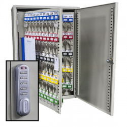 KeySecure Key Cabinet With Electronic Cam Lock - 250 Hook