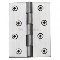 "M.Marcus 102x76mm (4"" x 3"") Double Phosphor Washered Butt Hinge (pair) - Satin Chrome"