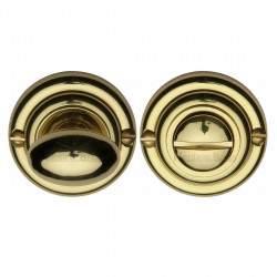 M.Marcus Bathroom Turn & Release 45mmØ - Polished Brass