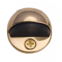 M.Marcus Shielded Door Stop - Polished Brass