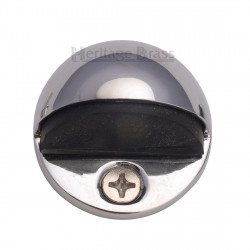 M.Marcus Shielded Door Stop - Polished Chrome