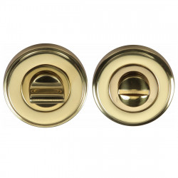 M.Marcus Bathroom Turn & Release 50mmØ - Polished Brass