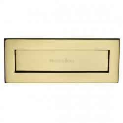 M.Marcus Letter Plate 254x102mm - Polished Brass