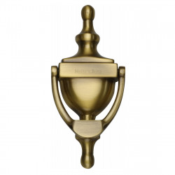 M.Marcus Urn Door Knocker 152mm - Antique Brass