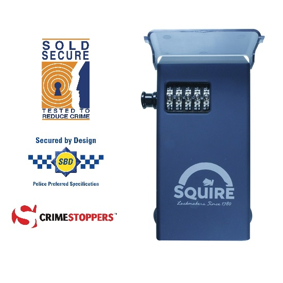 Squire stronghold high security sold secure rated key safe for Safe and secure products